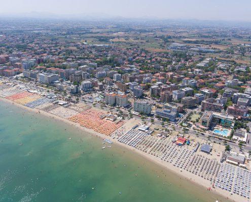 Panoramica - A-Mare Beach Valverde di Cesenatico